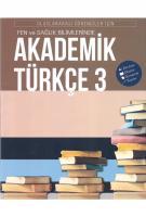 İstanbul Akademik Türkçe-3  Uluslararası Öğrenciler için Dinleme Okuma Konuşma Yazma CD