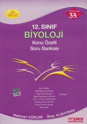 12. Sınıf Biyoloji Konu Özetli Soru Bankası İlkay Albayrak