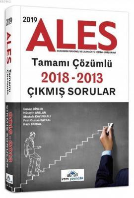2019 ALES Tamamı Çözümlü Çıkmış Sorular İrem Yayıncılık İrem Komisyon