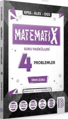 2021 KPSS ALES DGS MatematiX Soru Fasikülleri 4 Problemler Olcay Küçük