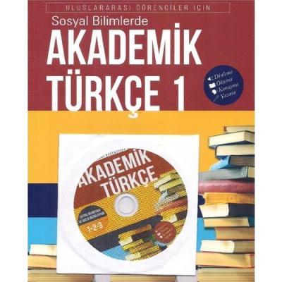İstanbul Akademik Türkçe-1  Uluslararası Öğrenciler için Dinleme Okuma Konuşma Yazma CD