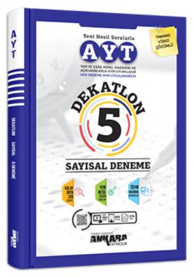 Ayt Dekatlon 5 Sayısal Deneme Kolektif