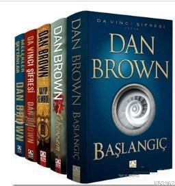 Dan Brown Seti - Robert Langdon Serisi (5 Kitap Takım) Dan Brown