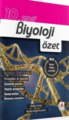 Delta Kültür Yayınları 10. Sınıf Biyoloji Özet Delta Kültür Melek Yılm