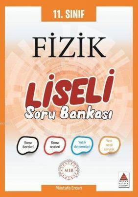 Delta Kültür Yayınları 11. Sınıf Fizik Liseli Soru Bankası Delta Kültü