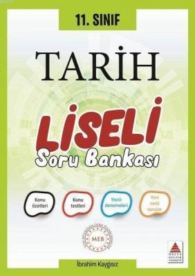 Delta Kültür Yayınları 11. Sınıf Tarih Liseli Soru Bankası Delta Kültü