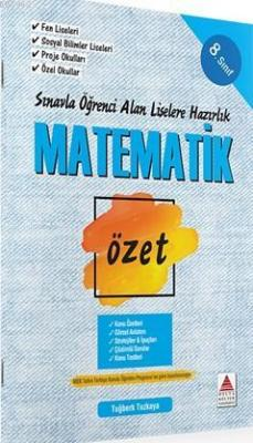 Delta Kültür Yayınları 8. Sınıf LGS Matematik Özet Liselere Hazırlık D