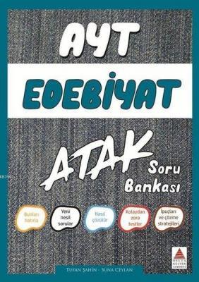 Delta Kültür Yayınları AYT Edebiyat Atak Soru Bankası Delta Kültür Sun