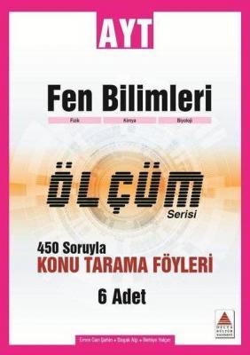 Delta Kültür Yayınları AYT Fen Bilimleri Ölçüm Serisi Konu Tarama Föyl