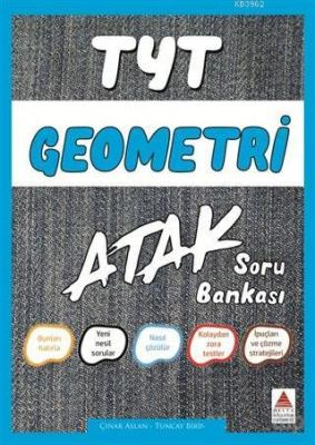 Delta Kültür Yayınları TYT Geometri Atak Soru Bankası Delta Kültür Çın