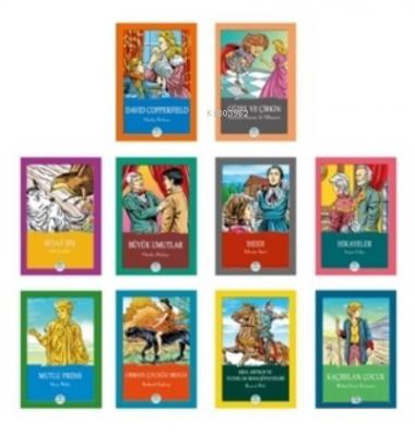 Dünya Çocuk Klasikleri 10 Kitap Seti-5 Kolektif