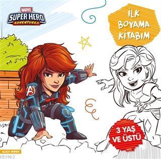 İlk Boyama Kitabım Black Widow - Marvel Super Hero Adventures Gökçe De