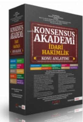 Konsensus Akademi İdari Hakimlik Konu Anlatımlı Set Savaş Yayınları 20