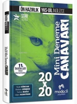 Modadil Yayınları YKS-DİL İngilizce Ön Hazırlık 20x20 Mini Deneme Cana