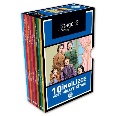Stage 3 - İngilizce Hikaye Seti 10 Kitap Kolektif