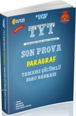 TYT Son Prova Paragraf Tamamı Çözümlü Soru Bankası Kolektif