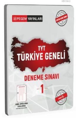 TYT Türkiye Geneli Deneme Sınavı 1 Kolektif
