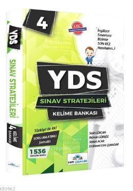 YDS Sınav Stratejileri 4 Kelime Bankası Sertan Acar