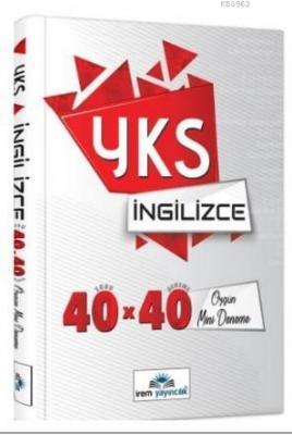 YKS Dil İngilizce 40x40 Özgün Mini Denemeler İrem Yayıncılık Komisyon