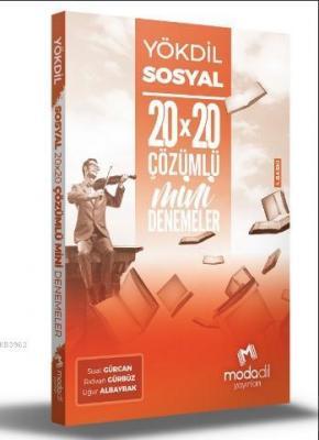 YÖKDİL Sosyal Bilimler 20×20 Mini Denemeler Rıdvan Gürcan
