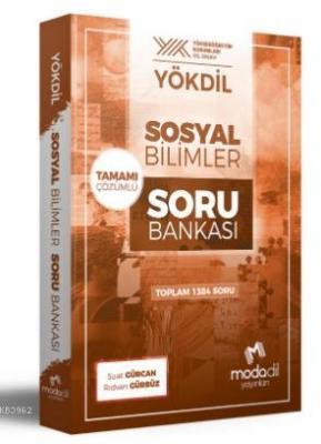 YÖKDİL Sosyal Bilimler Tamamı Çözümlü Soru Bankası Suat Gürcan Rıdvan